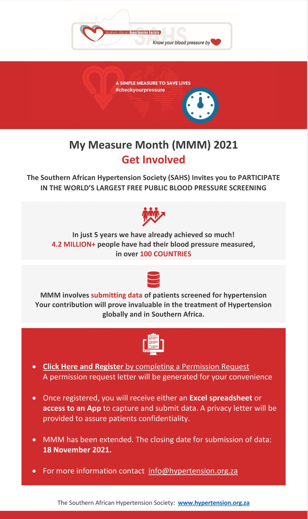 My Measure Month 2021 Get Involved